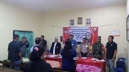Pelantikan Ketua KPPS Desa Nagasepaha